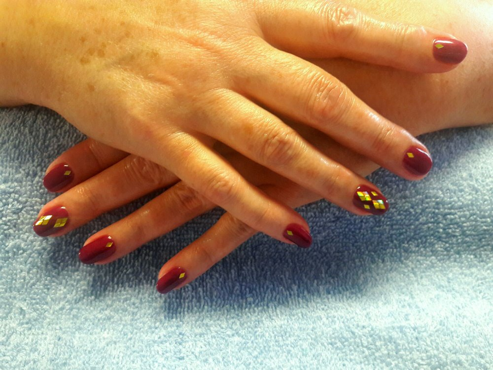 Bridal Manicure Design