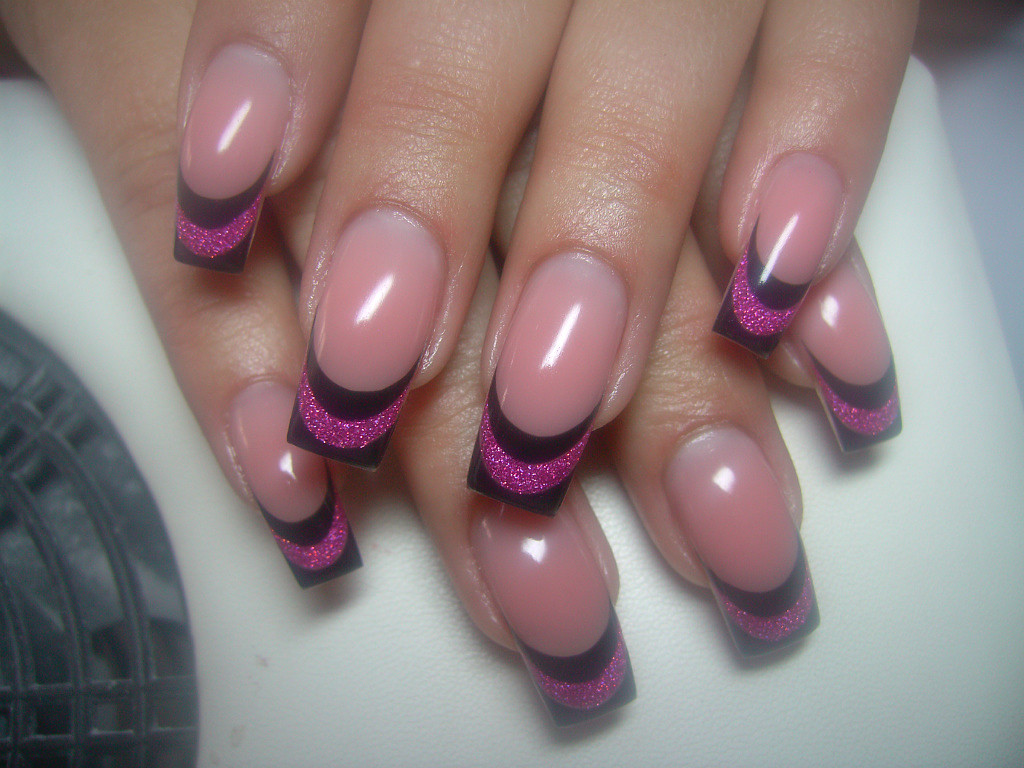 Gel French Manicure Nail Design